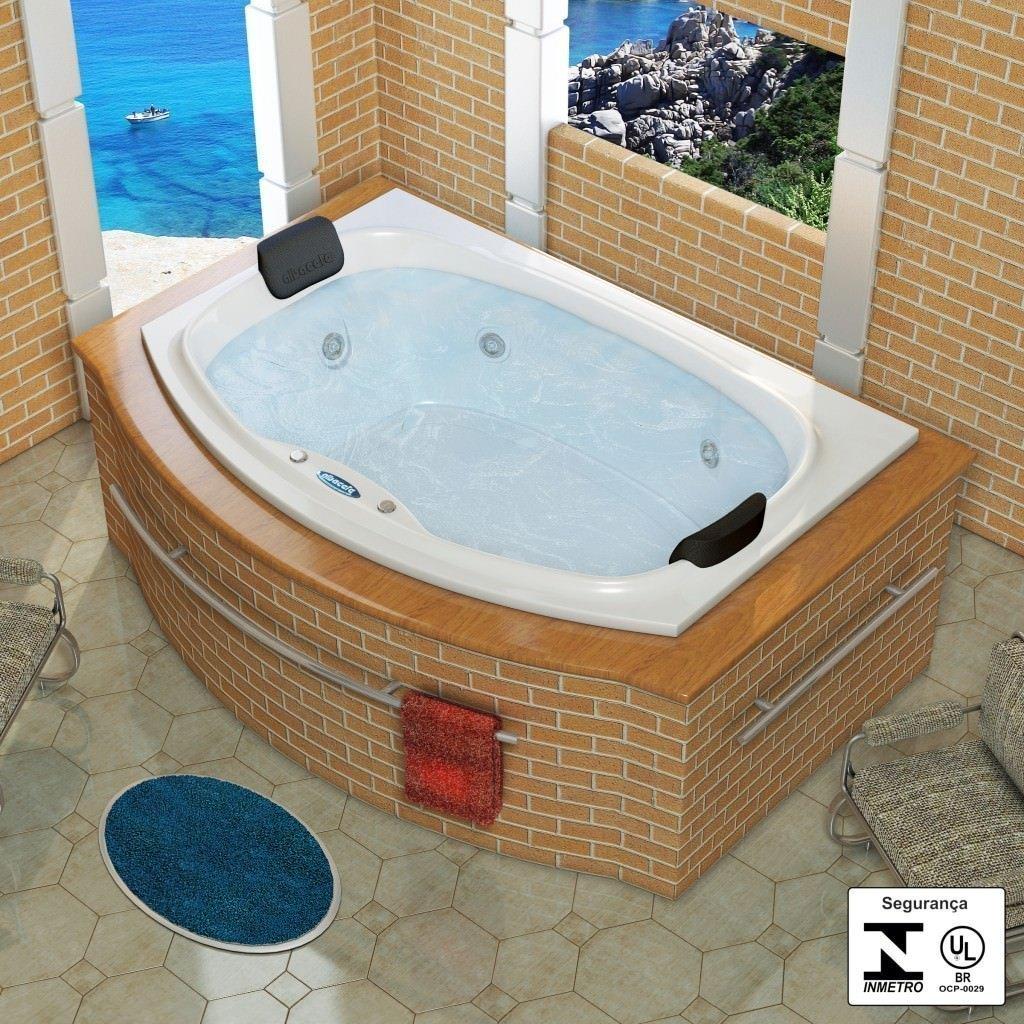 Por que comprar uma banheira de hidromassagem?