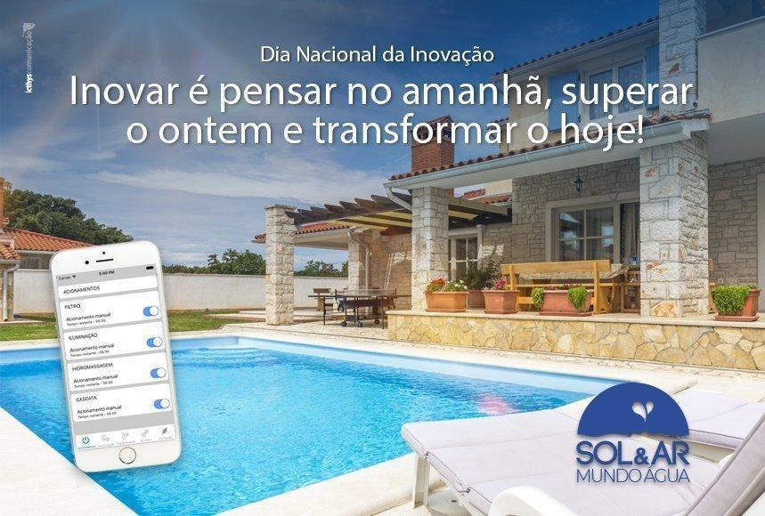Automação de piscinas: o New Mobile Pool é a solução