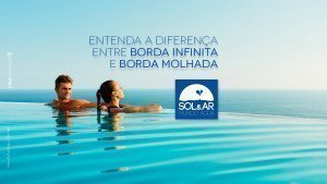 Entenda a diferença entre piscina com borda infinita e borda molhada