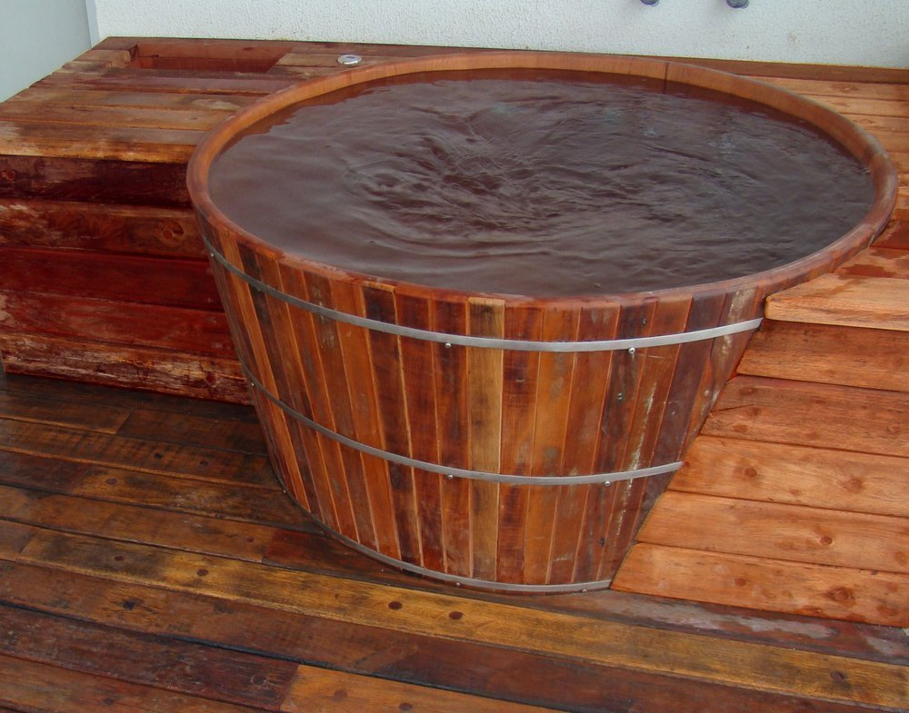 Ofurô Rústico 120 cm