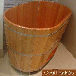 Ofurô Individual Oval Padrão 100 cm x 60 cm