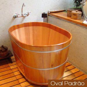Ofurô Individual Oval Padrão 110 cm x 70 cm