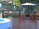 Sauna Pronta em Madeira e Vidro
