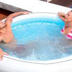 Banheiras de Hidromassagem Infláveis: 10 vantagens e desvantagens